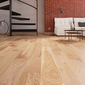 Suelo de madera LINE ROBLE RÚSTICO
